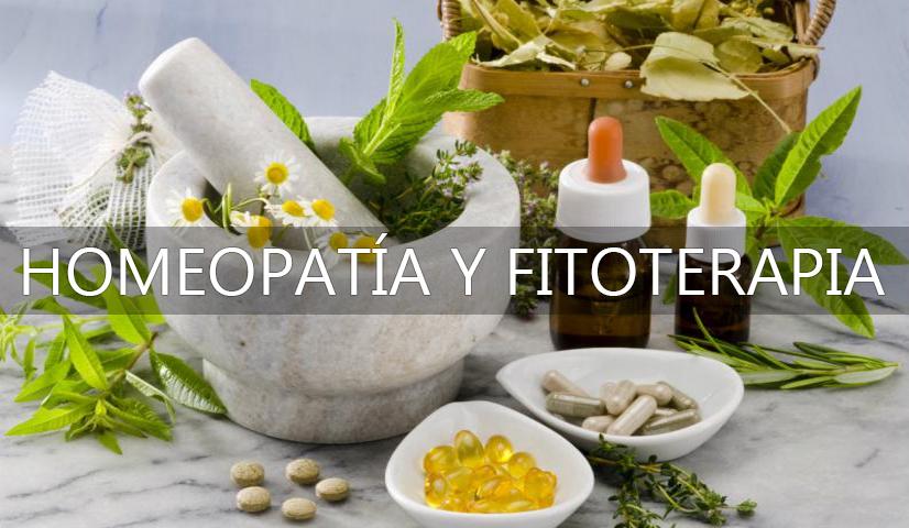 Fitoterapia y homeopatia