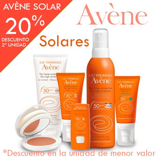 Oferta Avène solares