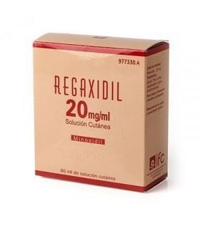 REGAXIDIL 20 MG/ML SOLUCION CUTANEA 1 FRASCO 60 (NPM)